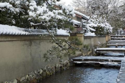 雪の社家町