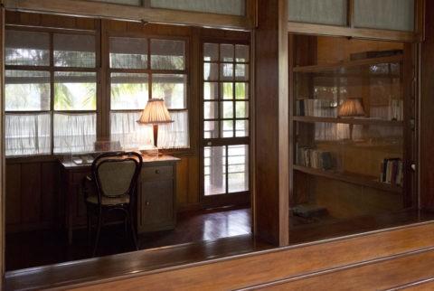 ホーチミンの家 執務室