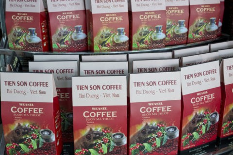 ジャコウネコのコーヒー