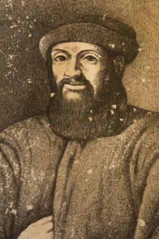 マゼランの肖像画