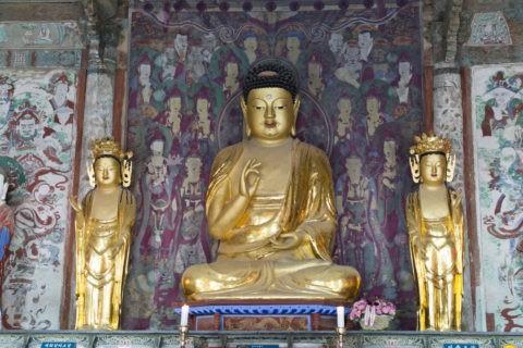 仏国寺 釈迦三尊仏