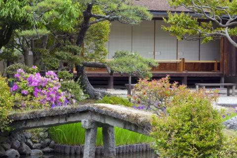 法華寺 庭園