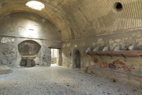 エルコラーノ フォロの浴場