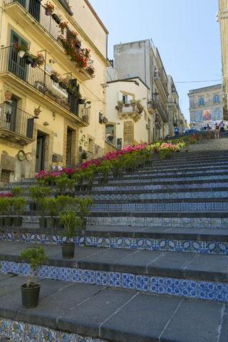 サンタマリアデルモンテの階段