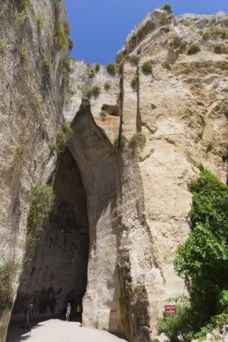 ネアポリス考古学公園 ディオニシオスの耳