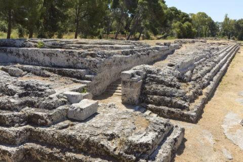ネアポリス考古学公園 ヒエロン2世の祭壇