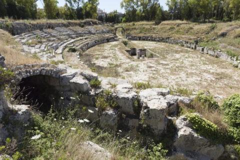 ネアポリス考古学公園 円形闘技場