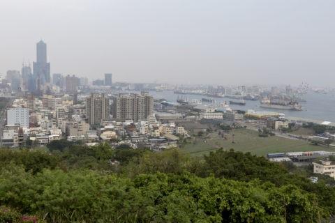 寿山公園からの高雄市内