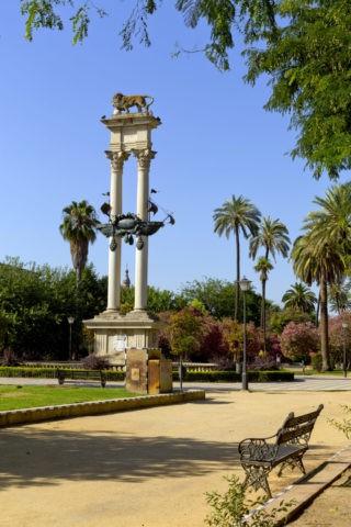 ムリーリョ公園 コロンブスの記念碑