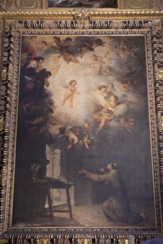 セビリア大聖堂 サン・アントニオ礼拝堂