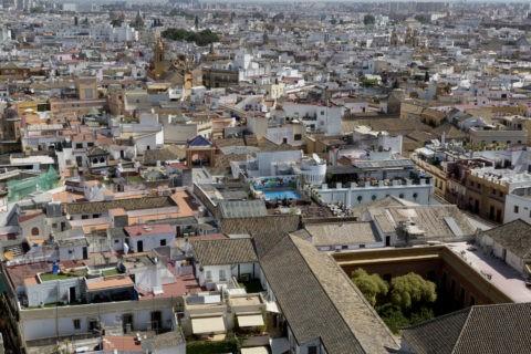 ヒラルダの塔からの眺め