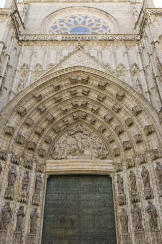 セビリア大聖堂 聖母被昇天の門