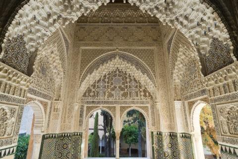 アルハンブラ宮殿 リンダラハのバルコニー
