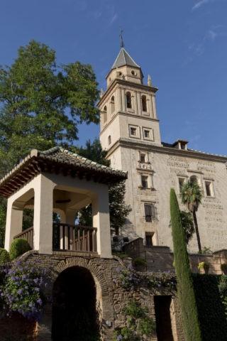 アルハンブラ宮殿 サンタ・マリア・アルハンブラ教会