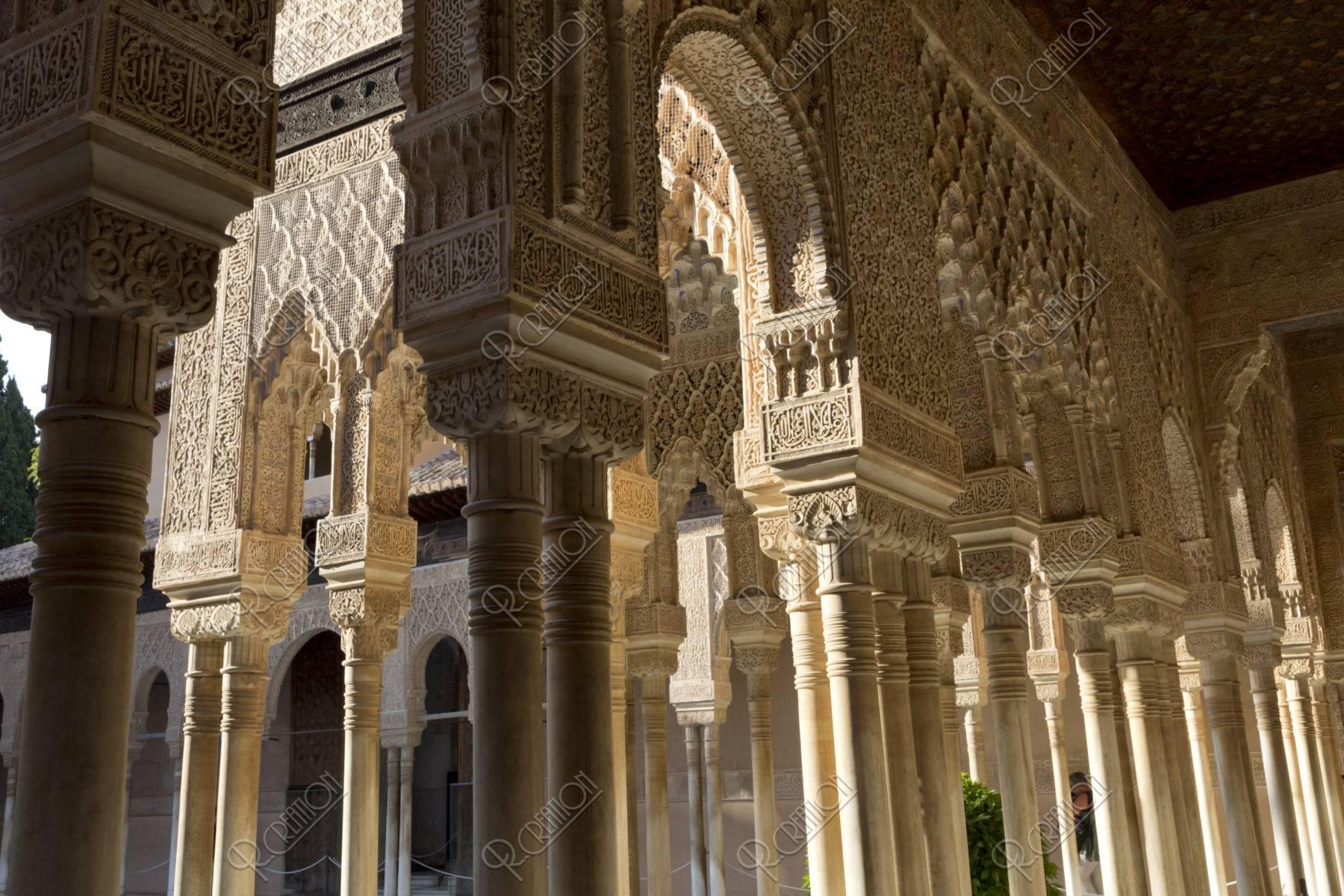 アルハンブラ宮殿 ライオンの中庭