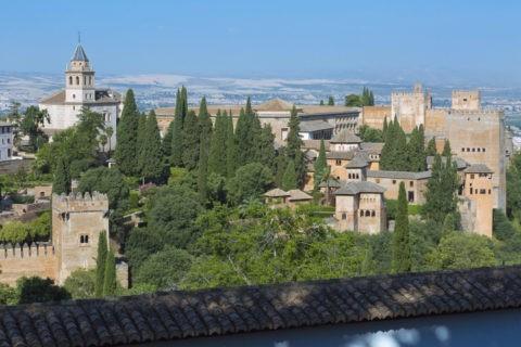 アルハンブラ宮殿からの町並