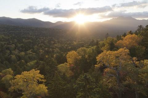 三国峠からの日の出