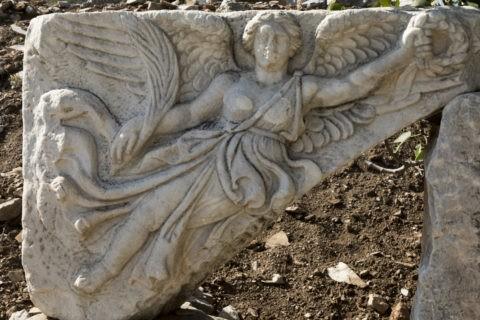 エフェソス遺跡 勝利の女神
