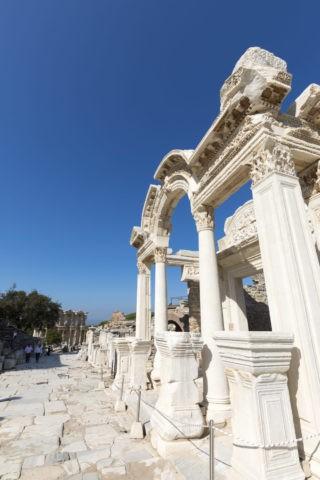 エフェソス遺跡 ハドリアヌス神殿