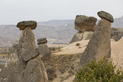 カッパドキア 三姉妹の岩