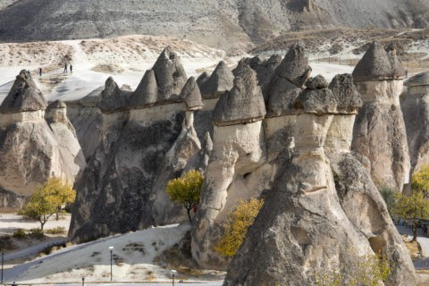 ギョレメ国立公園 奇岩