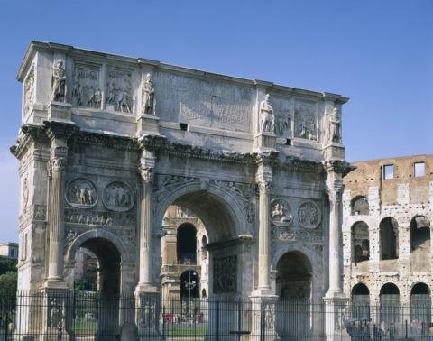 コンスタンティヌスの凱旋門 W.H.