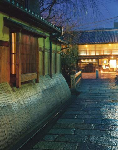 祇園 巽橋の夜景