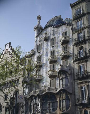 バトリョー邸 バルセロナ スペイン