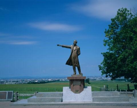 羊ヶ丘のクラーク像 札幌 北海道