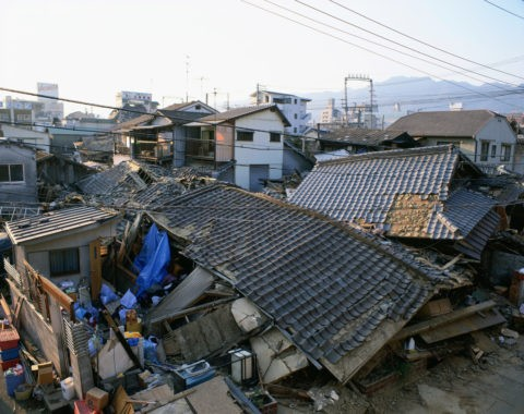 阪神大震災 被災地
