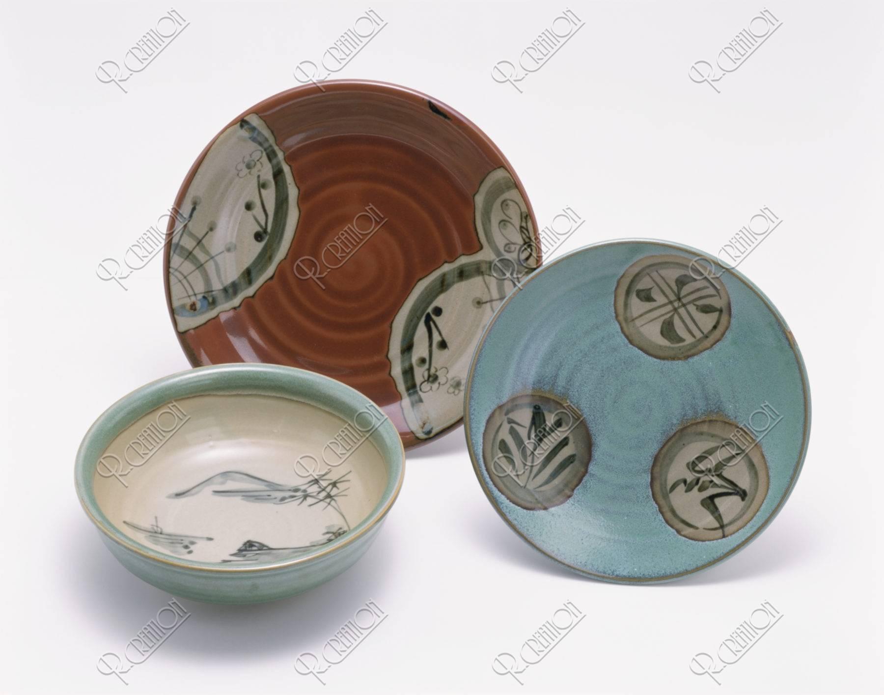 美濃焼 皿と鉢