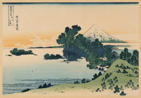富嶽三十六景 相州 七里浜