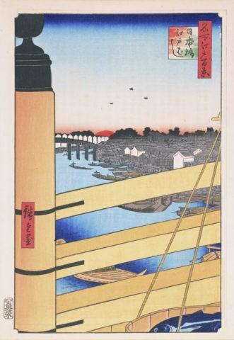 江戸百景 日本橋江戸橋
