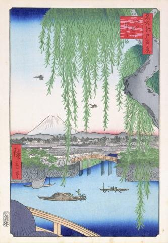 江戸百景 八つ見の橋
