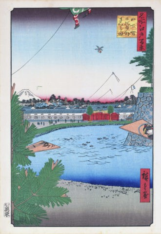 江戸百景 山下町日比谷外櫻田
