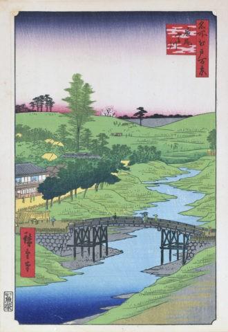 江戸百景 廣尾ふる川