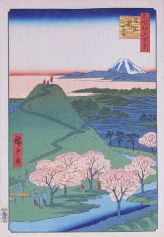 江戸百景 目黒新富士