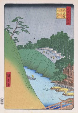 江戸百景 昌平橋聖堂神田川