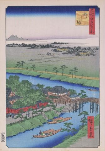 江戸百景 柳島