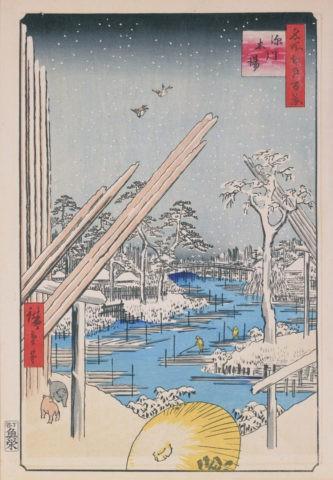 江戸百景 深川木場