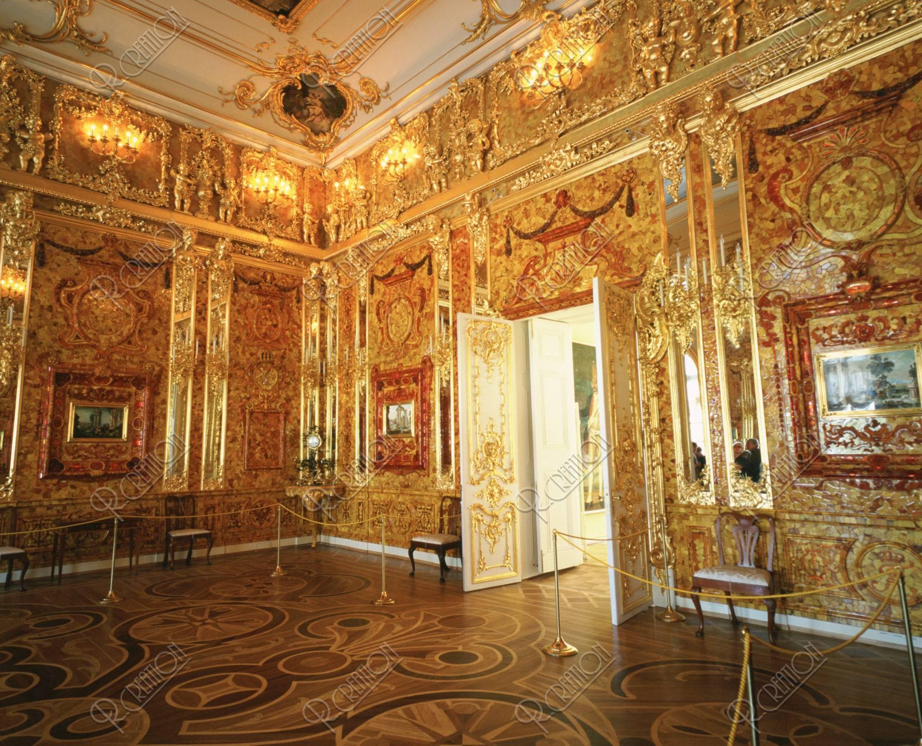 エカテリーナ宮殿 琥珀の間 世界遺産
