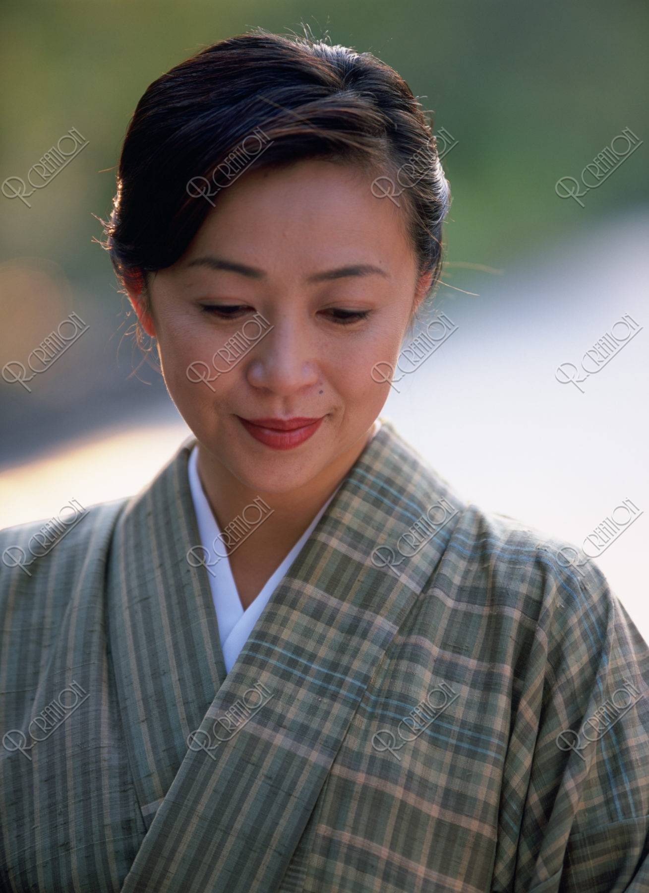 和服の40代 女性