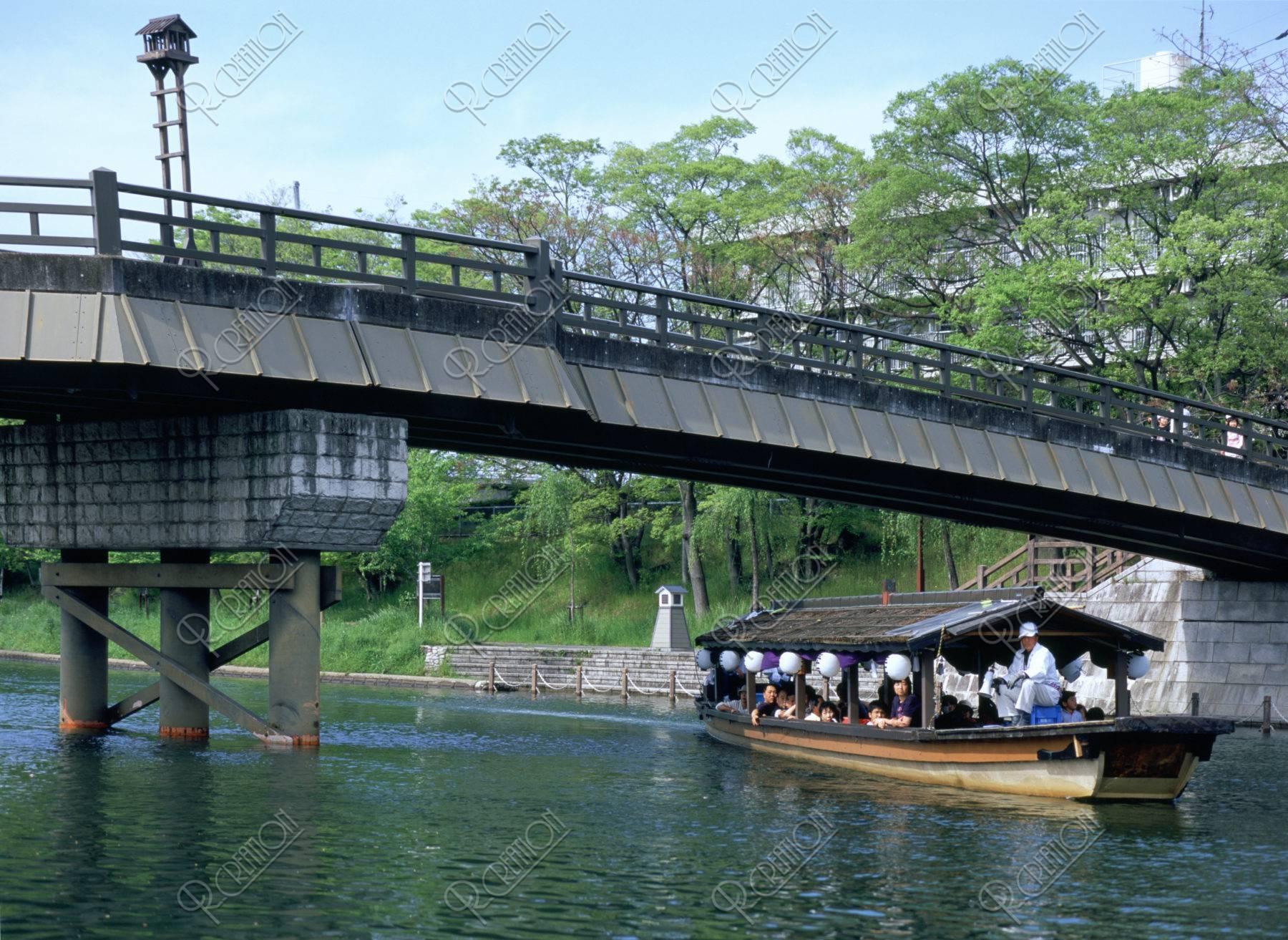 伏見港と三十石船