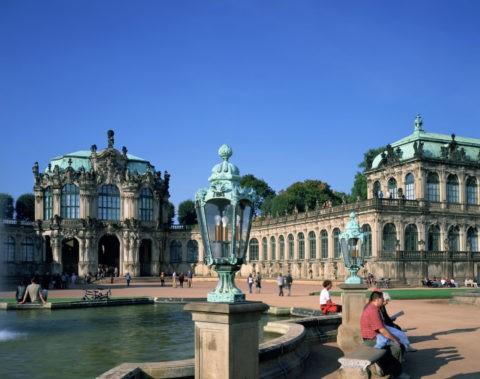 ツヴィンガー宮殿 世界遺産