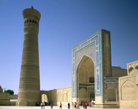 カラーン・モスクとミナレット世界遺産