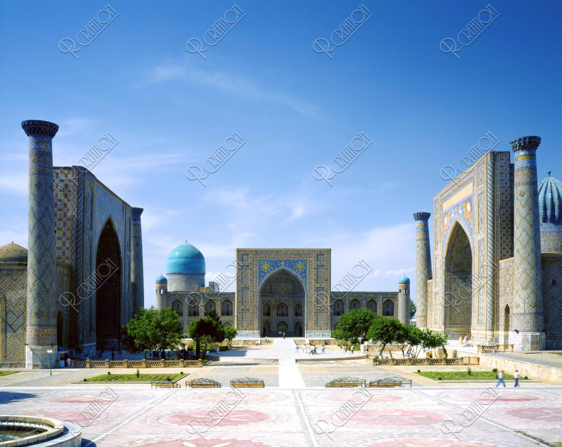 レギスタン広場 世界遺産