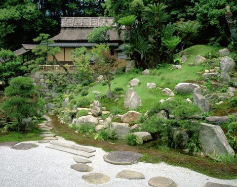 浄土寺庭園と露滴庵