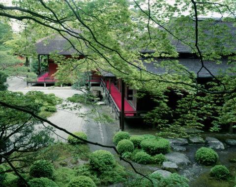 新緑の曼殊院庭園