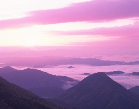大江山からの雲海