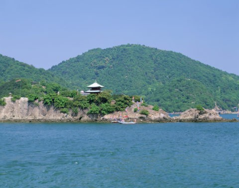 弁天島と仙酔島